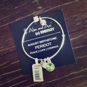 New Alex and Ani!! August birthstone!!